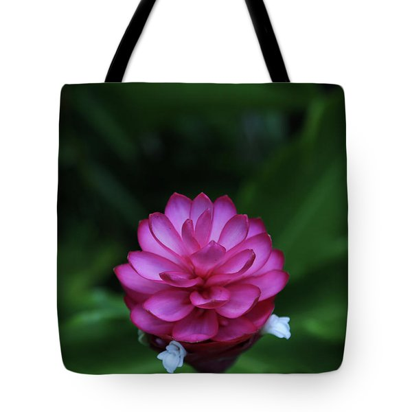 Tote Bag featuring the photograph Tropical Flower by T A Davies