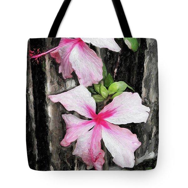Tropical Flowers #1 Tote Bag