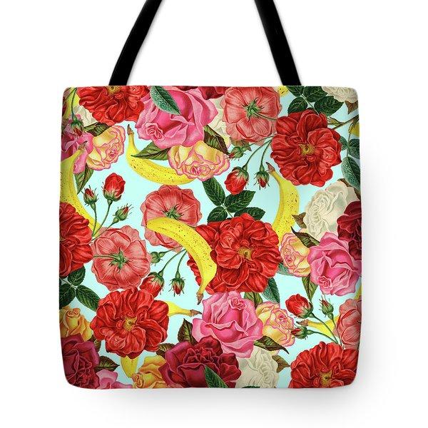 Tropical Forest Tote Bag by Uma Gokhale
