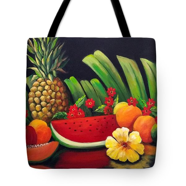 Tropical Fruit Tote Bag