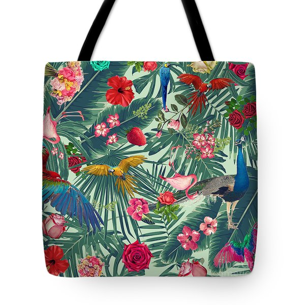 Tropical Fun Time  Tote Bag