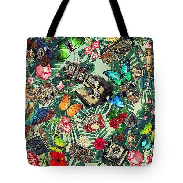 Tropical Fun Vintage  Tote Bag