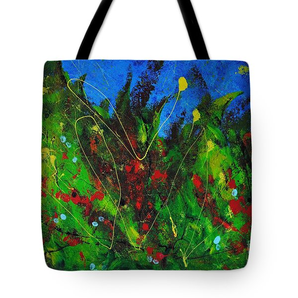 Tropical Garden Tote Bag