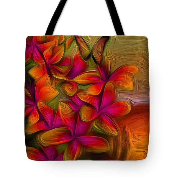 Tropical Gold Tote Bag