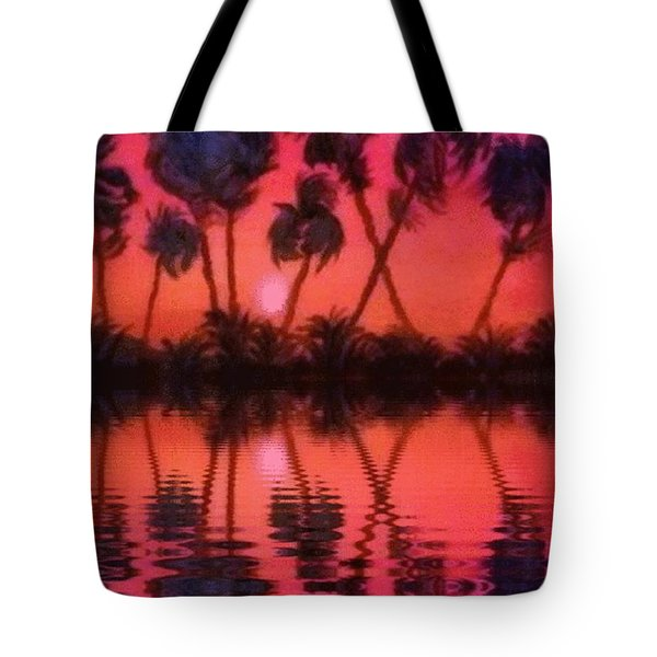 Tropical Heat Wave Tote Bag