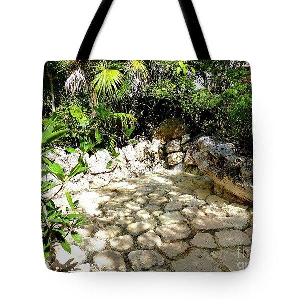 Tropical Hiding Spot Tote Bag