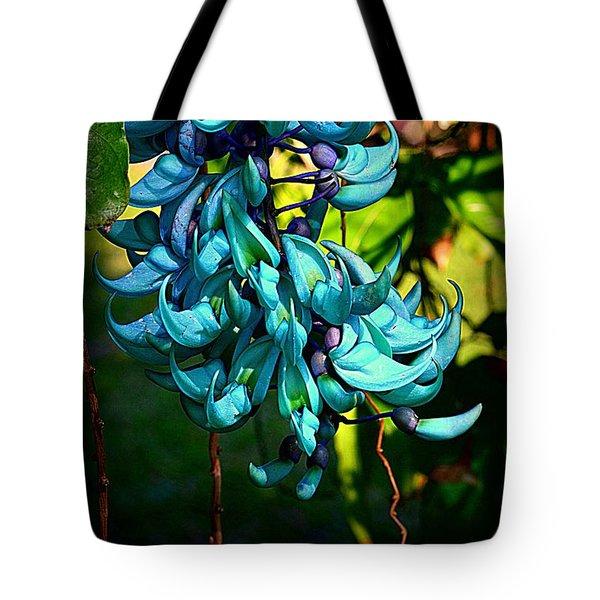 Tropical Jade Tote Bag