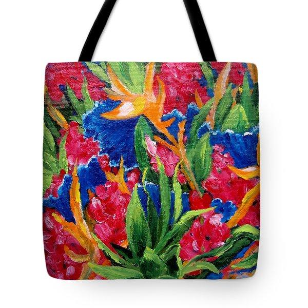 Tropical Tote Bag by Jamie Frier