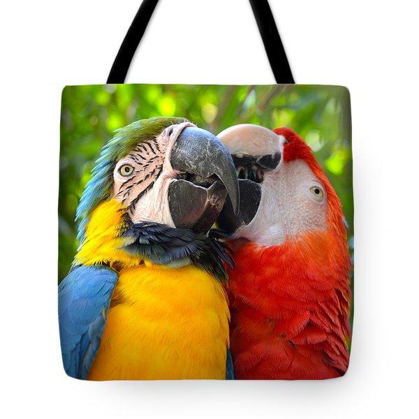 Tropical Kisses Tote Bag