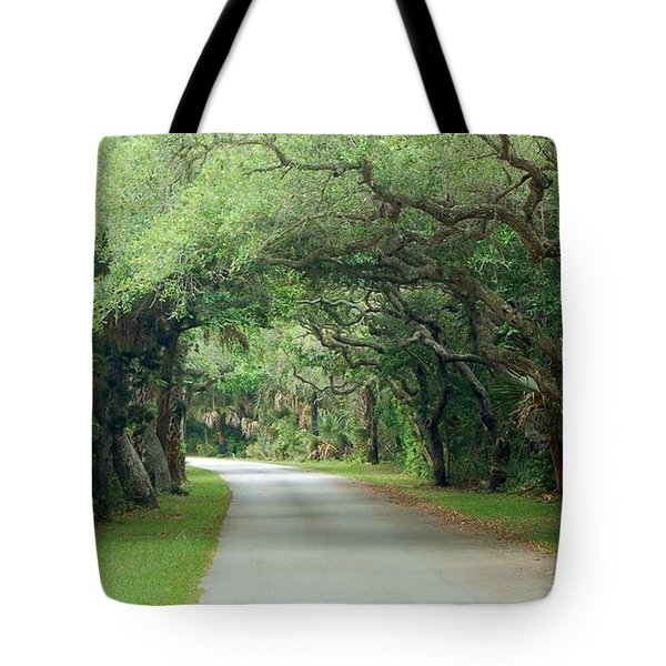 Tropical Magic Forest Tote Bag