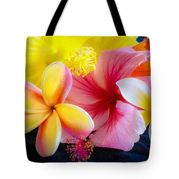 Tropical Melange Tote Bag