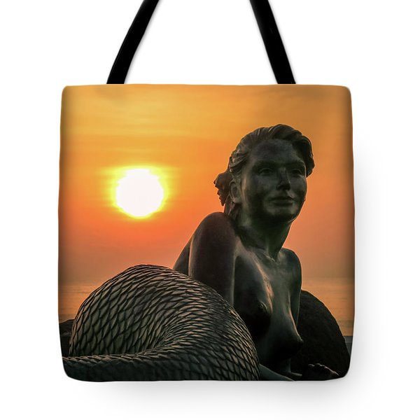 Tropical Mermaid Tote Bag