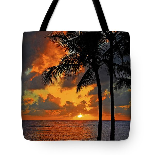 Tropical Nights  Tote Bag by Lynn Bauer