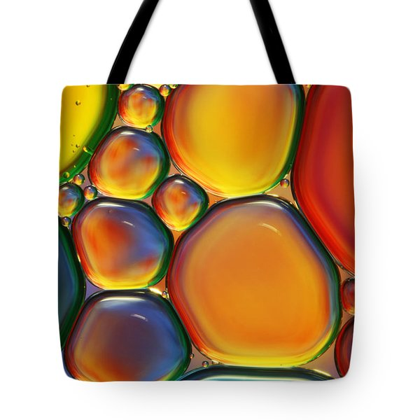 Tropical Oil And Water II Tote Bag