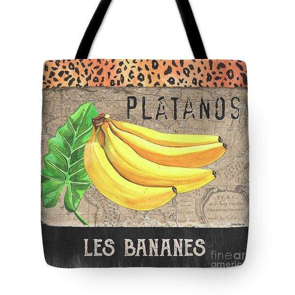 Tropical Palms 4 Tote Bag by Debbie DeWitt