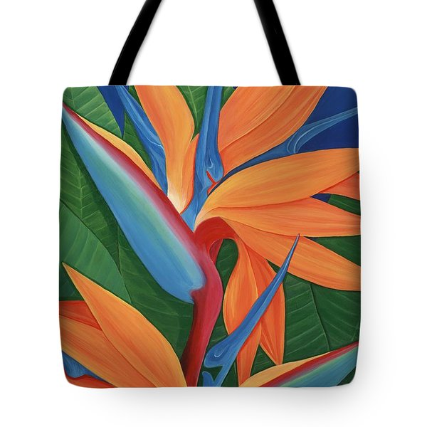 Tropical Paradise Tote Bag by Lisa Bentley