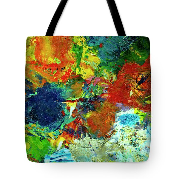 Tropical Reef #308 Tote Bag by Donald k Hall