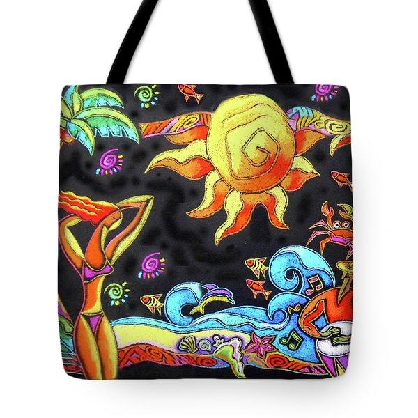 Tropical Resort  Tote Bag