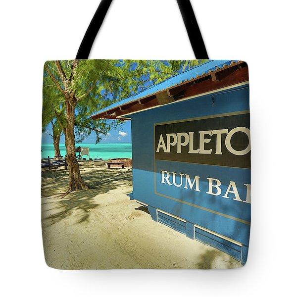 Tropical Rum Bar Tote Bag