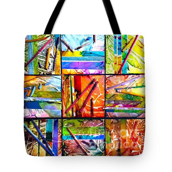 Tropical Stix Tote Bag by Alene Sirott-Cope