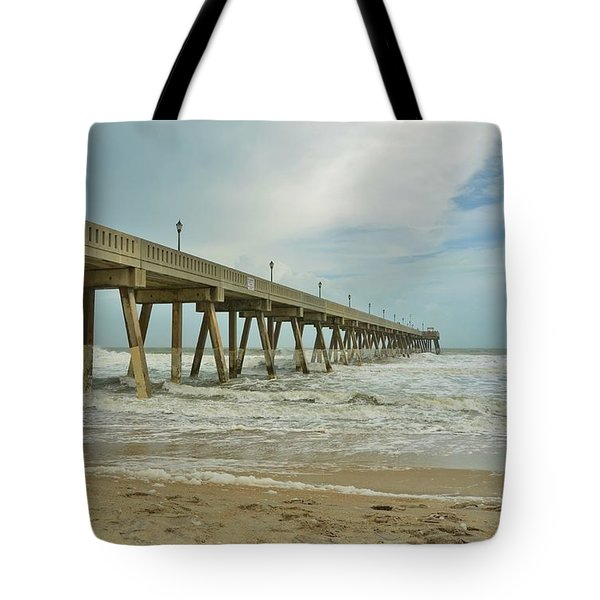 Tropical Storm Ana 1 Tote Bag