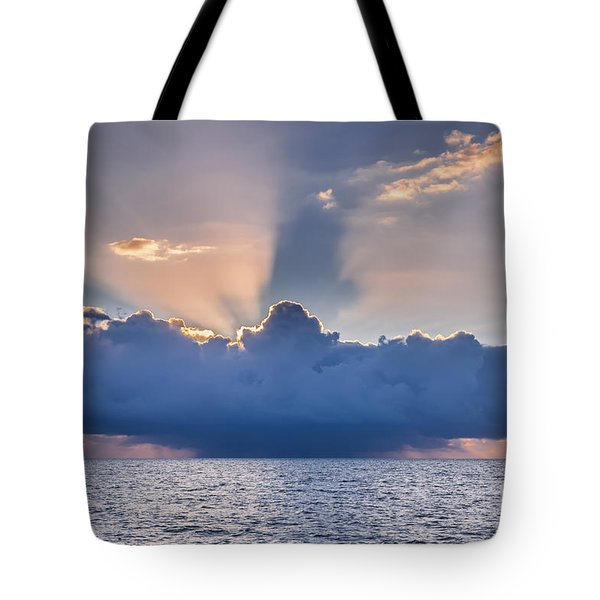 Tropical Storm At Key West Tote Bag