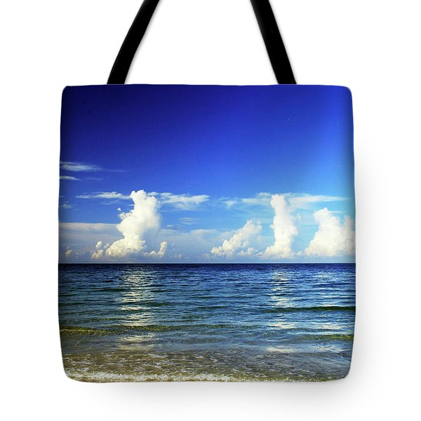 Tote Bag featuring the photograph Tropical Storm Brewing by Gary Wonning