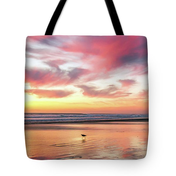 Tropical Sunset Island Bliss Seascape C8 Tote Bag