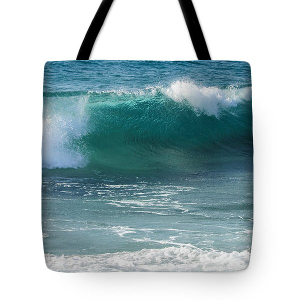 Tropical Treasure Coast Florida Seascape Wave 99 Tote Bag
