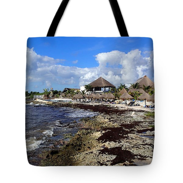Tropical View Tote Bag