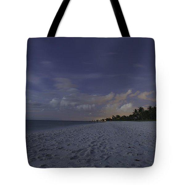 Tropical Winter Tote Bag