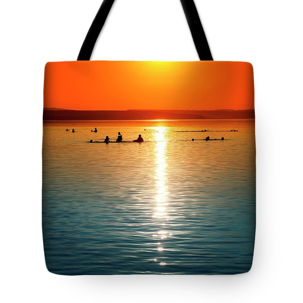 Tropicana Swimming Tote Bag