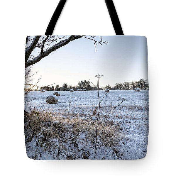 Trossachs Scenery In Scotland Tote Bag