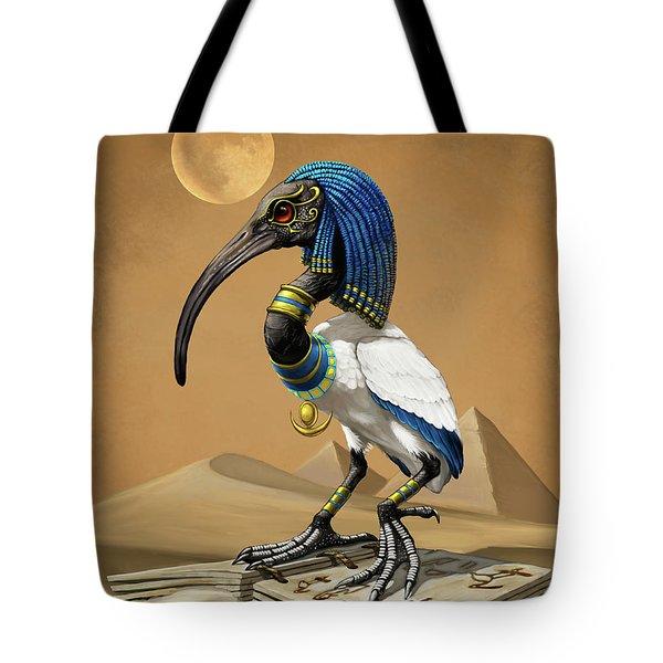 Thoth Egyptian God Tote Bag