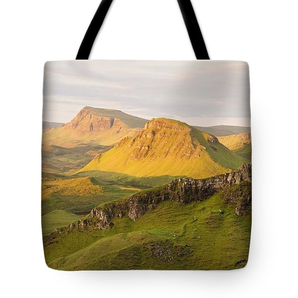 Trotternish Summer Panorama Tote Bag