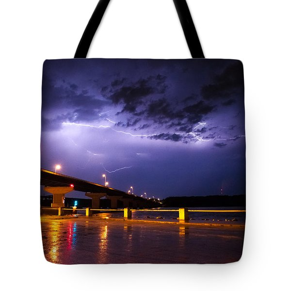 Troubled Skies Tote Bag by Joe Scott