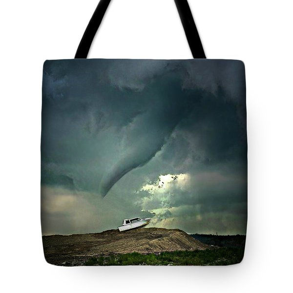 Troubling Times Tote Bag