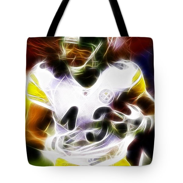 Troy Polamalu Tote Bag