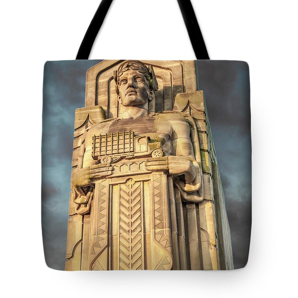 Truck Guardian Tote Bag