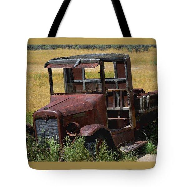 Truck Long Gone Tote Bag