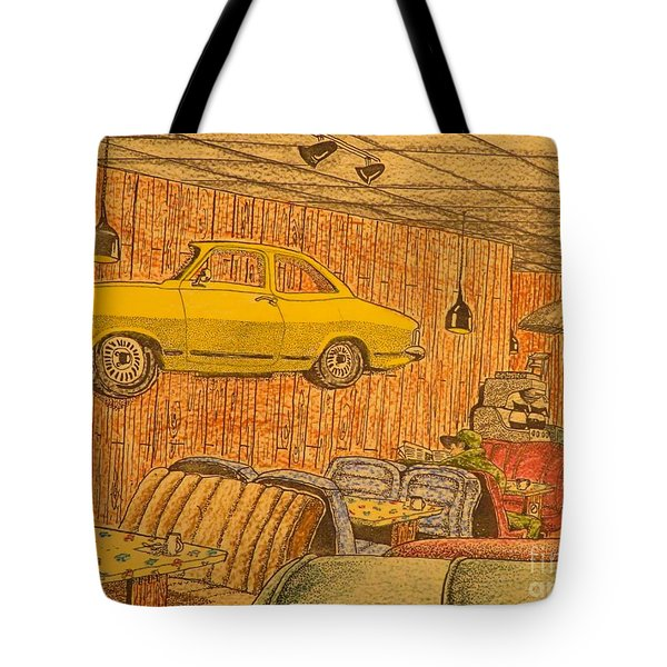 Truck Stop Late Night Tote Bag