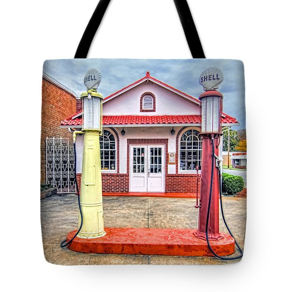 Trucking Museum Tote Bag by Marion Johnson