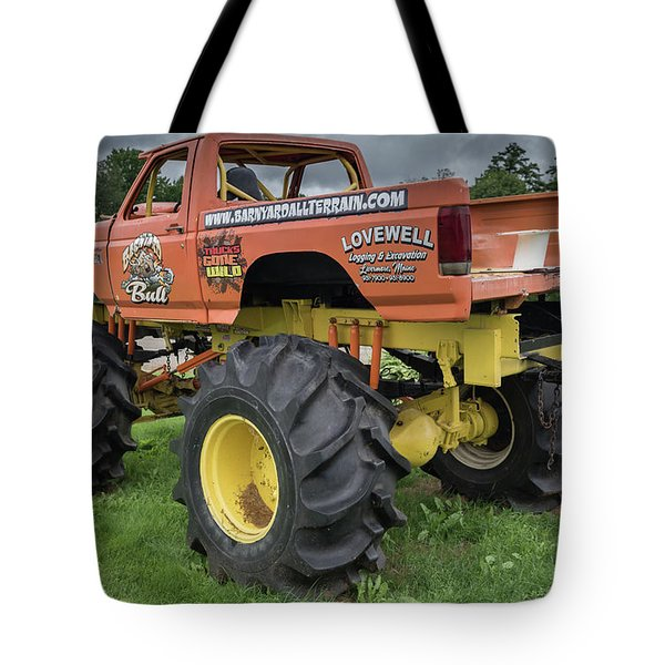 Tote Bag featuring the photograph Trucks Gone Wild by Guy Whiteley