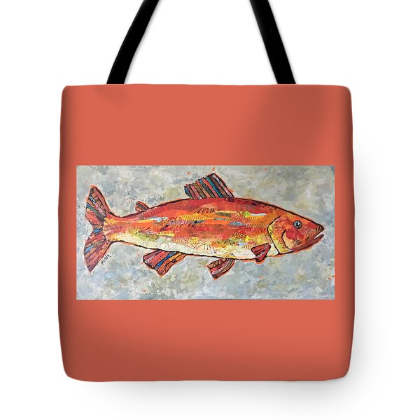 Trudy The Trout Tote Bag