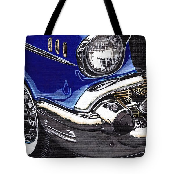 True Blue '57 Tote Bag