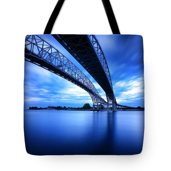 True Blue View Tote Bag