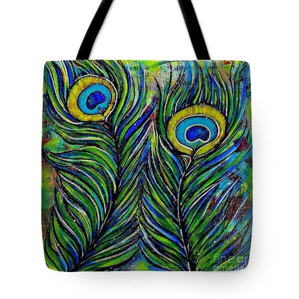 True Colors Tote Bag by Julie Hoyle