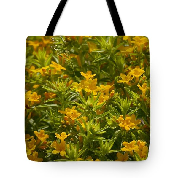 True Gold Tote Bag by Tim Good