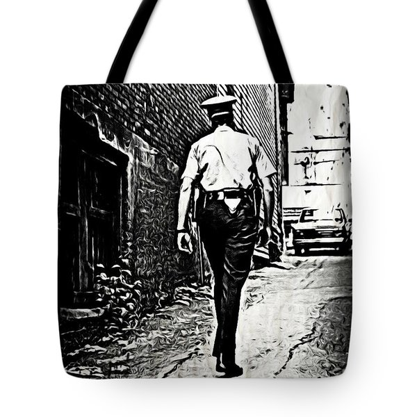 True Grit Tote Bag by John Malone