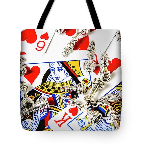 True Love Reigns Supreme Tote Bag